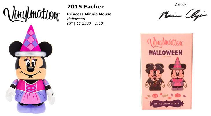 2015 Halloween Eachez Princess Minnie Mouse Chasing