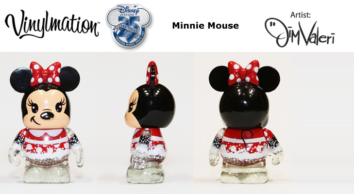 Minnie Mouse Chasing Vinylmation