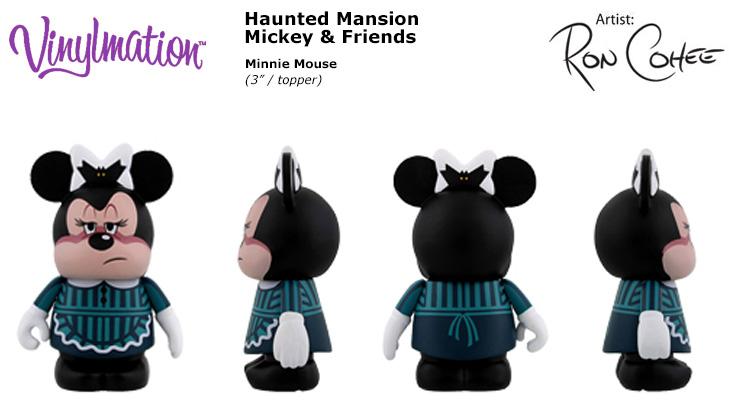 Disney Mickey /& Friends Haunted Mansion Vinylmation Mickey as Butler