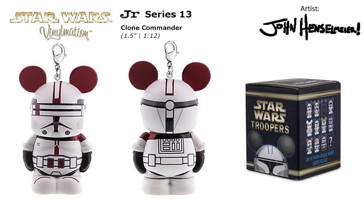 clone commander      chasing vinylmation