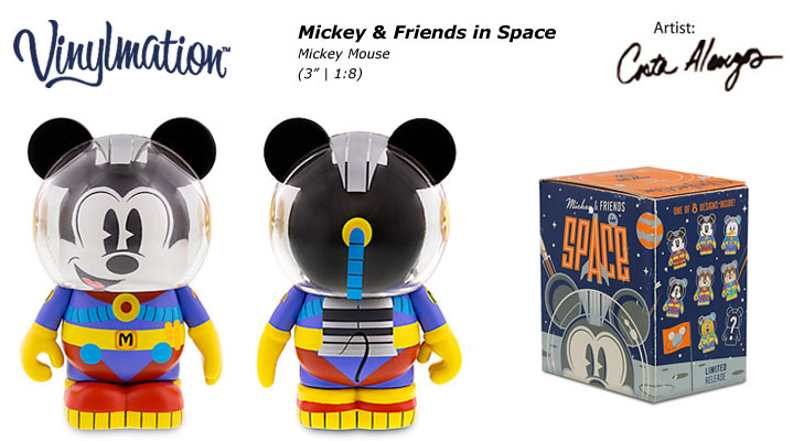 Mickey Mouse Chasing Vinylmation