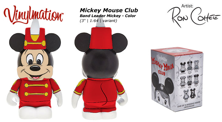 Band Leader Mickey Color Chasing Vinylmation