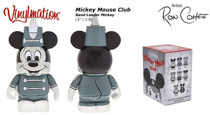 Band Leader Mickey Chasing Vinylmation