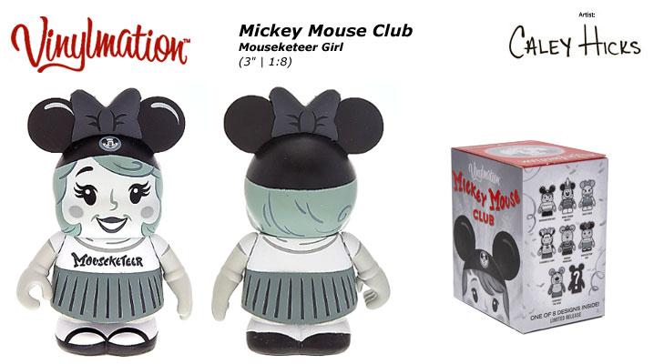 Mouseketeer Girl Chasing Vinylmation