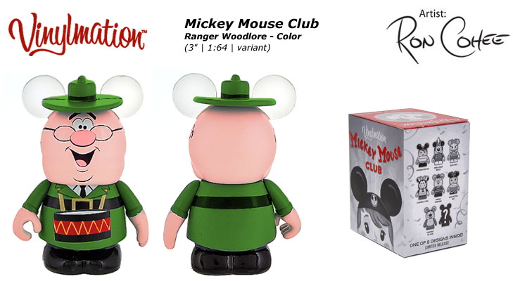 Ranger Woodlore Color Chasing Vinylmation