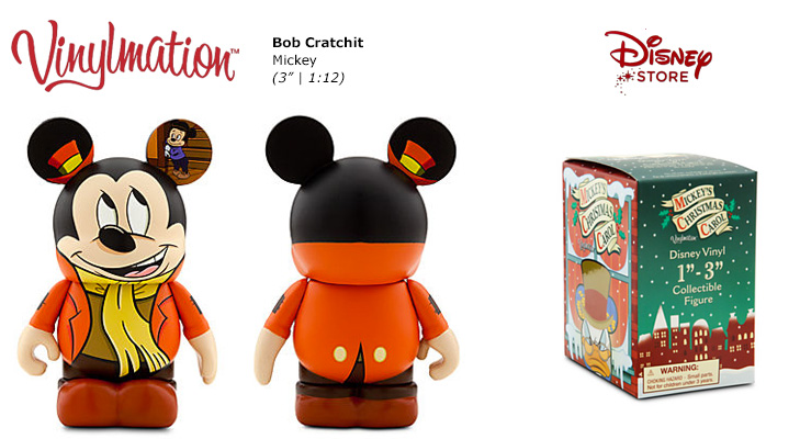 Bob Cratchit Mickey Chasing Vinylmation