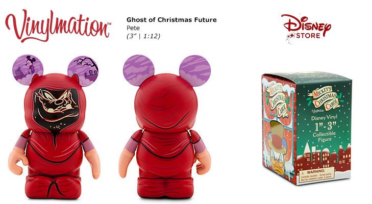Mickeys Christmas Carol Pete.Ghost Of Christmas Future Pete Chasing Vinylmation