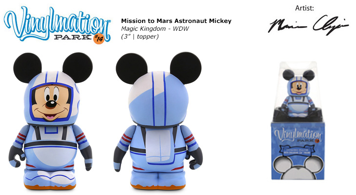 Mission To Mars Astronaut Mickey Chasing Vinylmation