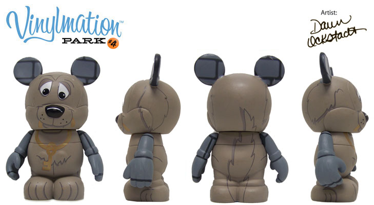 Pirates of the Caribbean Dog // Chasing Vinylmation