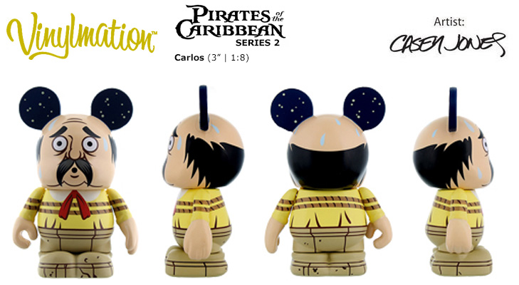 Pirates Of The Caribbean 2 // Chasing Vinylmation